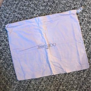 Jimmy Choo large dust bag - fits a shoe box